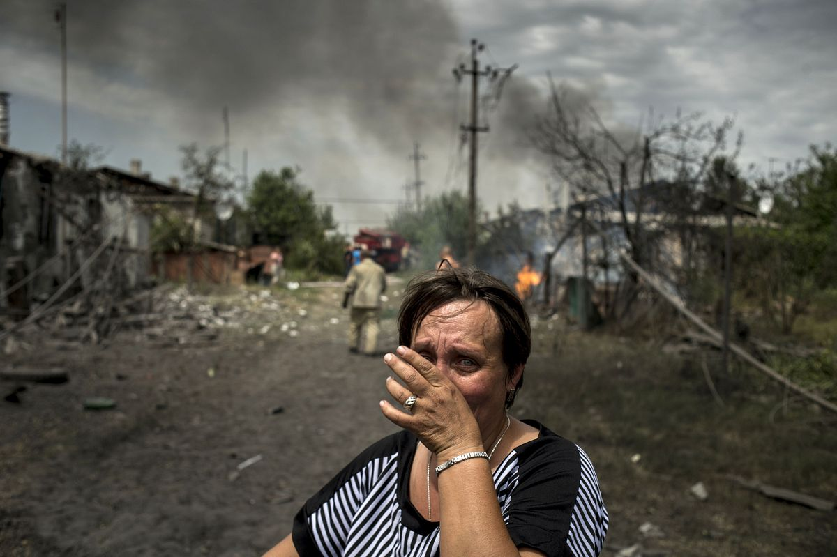 Военные действия в донбассе фото
