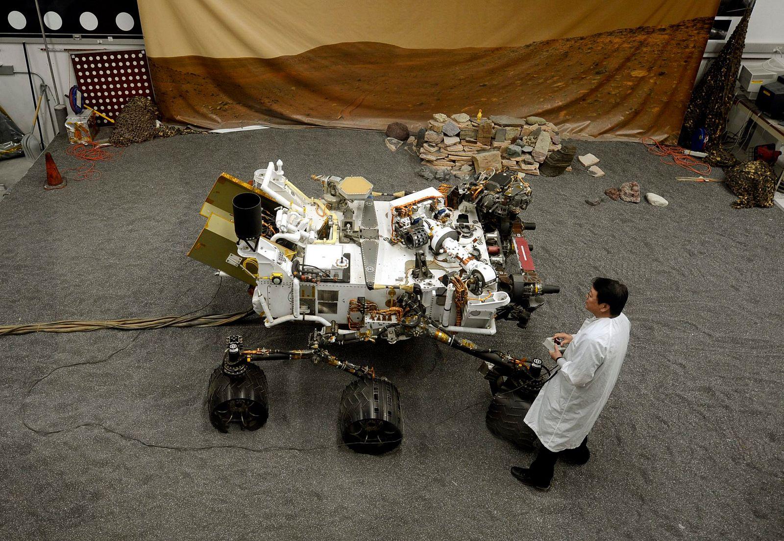 nasa curiosity landing - 1000×692